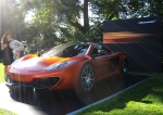 McLaren MP4-12C in the mid-morning light