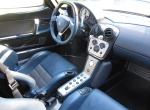 Maserati MC-12 interior. Love the side-knee pads