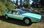 Classic Aston Martin wedge
