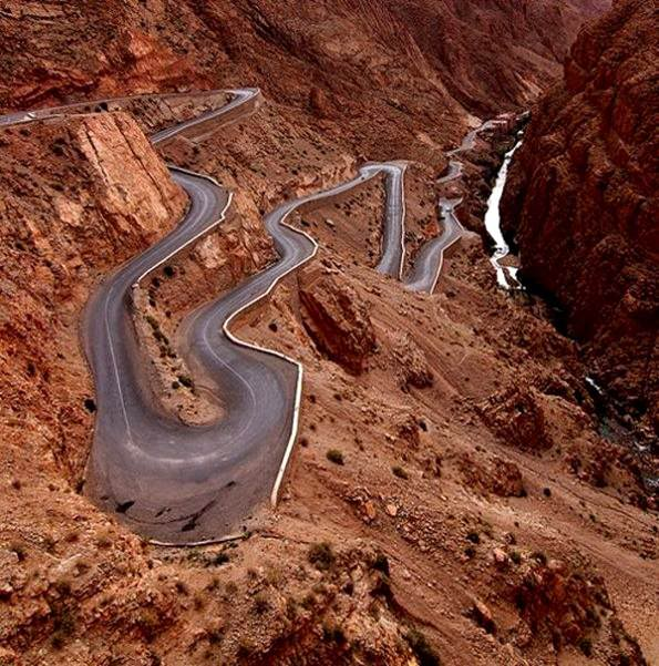 garganta del dades morocco - the World's Greatest Driving Roads.