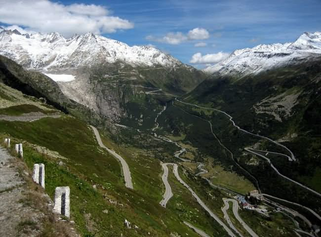 grimsel pass switzerland - the World's Greatest Driving Roads.