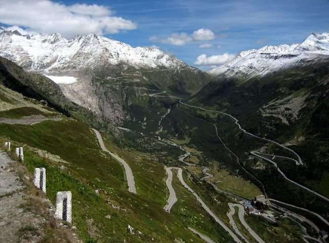 grimsel pass switzerland - the World's Greatest Driving Roads.