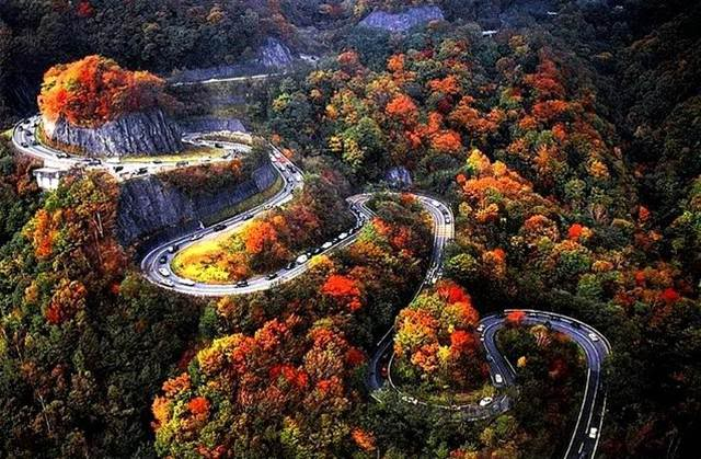 iroha zaka japan - the World's Greatest Driving Roads.