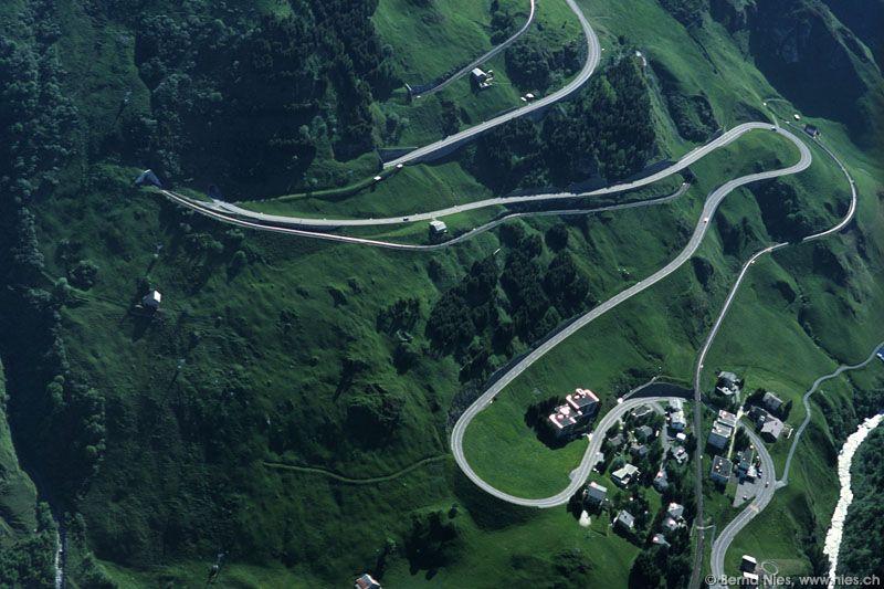 oberalp pass via gotthard pass - the World's Greatest Driving Roads.