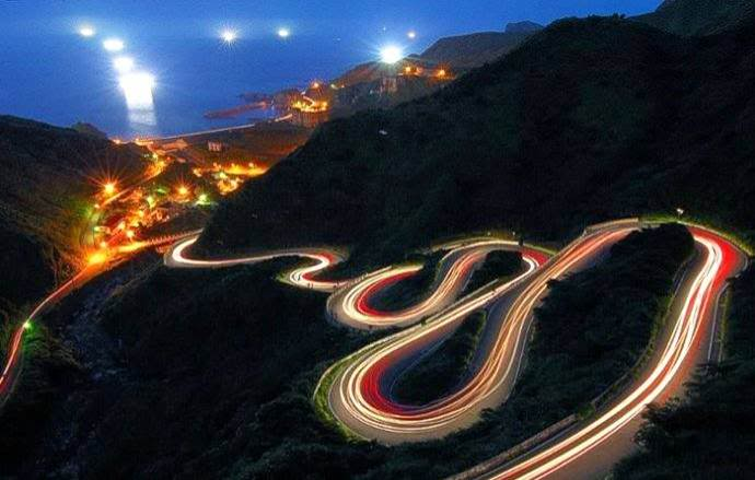 road to jiufen in taiwan - the World's Greatest Driving Roads.