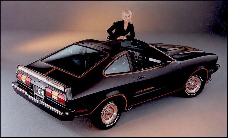 78 Mustang II King Cobra